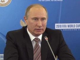 Putin: Rusia eliminará las visas para los fanáticos de la Copa del Mundo 2018